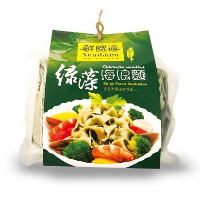 綠藻海浪麵