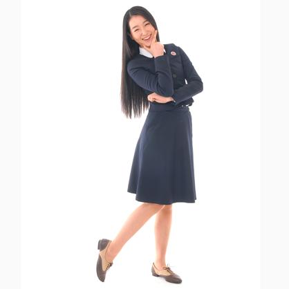 靓藍連身裙