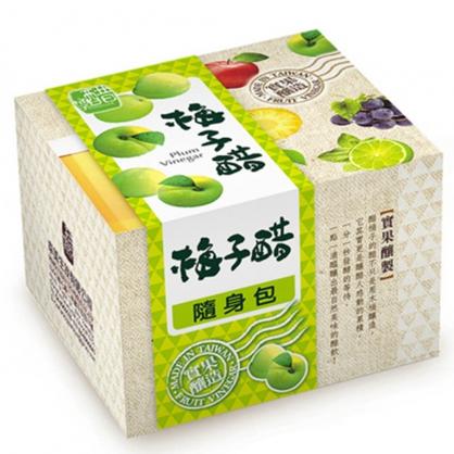 醋桶子-果醋隨身包-梅子醋10入/盒