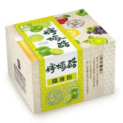 醋桶子-果醋隨身包-檸檬醋10入/盒