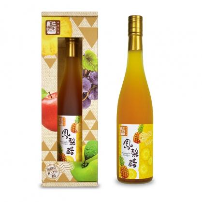 醋桶子-健康果醋單入禮盒-鳳梨醋(600ml/入)
