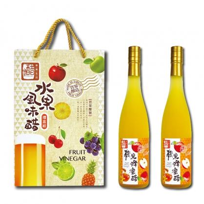 醋桶子-健康果醋2入禮盒-600ml/2入
