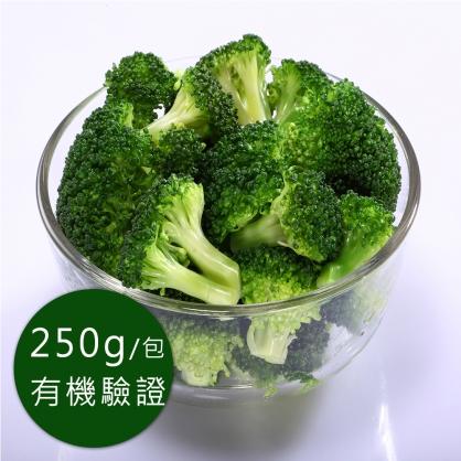 歐盟有機認證-急凍蔬菜-冷凍青花菜250g/包