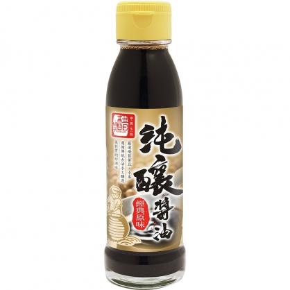 【庫存出清】醋桶子-經典原味純釀醬油125ml/瓶(效期至2022.3.2)