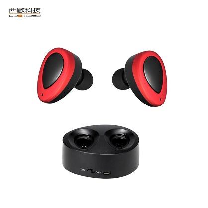 無線雙耳立體聲藍芽耳機-西歐科技