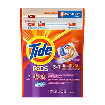 美国 Tide 汰渍 洗衣凝胶球3效合1