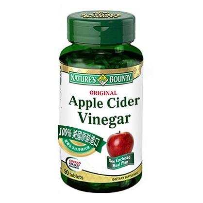 自然之寶蘋果醋複方食品錠90顆-西歐科技