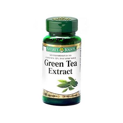 自然之寶綠茶菁萃膠囊食品100顆-西歐科技