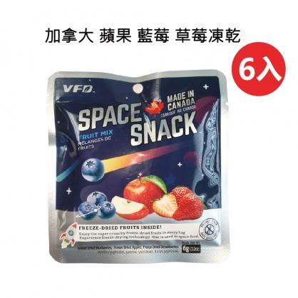 【加拿大凍乾】加拿大 蘋果、藍莓、草莓凍乾 (六入)