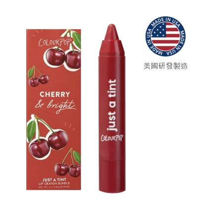 Colourpop Just A Tint蠟筆唇膏 cutie fruity 3.2g