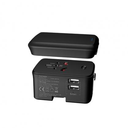 萬用多國充電器+行動電源 CME-AD01-8-西歐科技