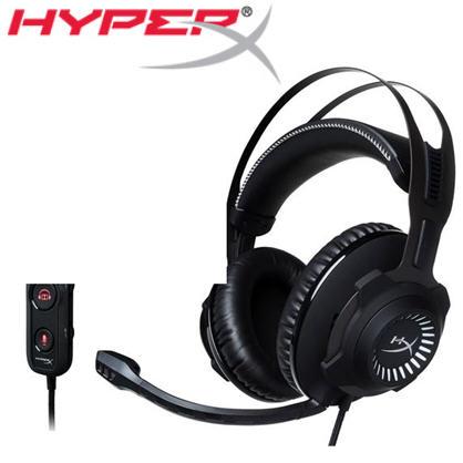 【HyperX】Cloud Revolver S杜比7.1虛擬環繞音效電競耳機(HX-HSCRS-GM/AS)->學生另有優惠價