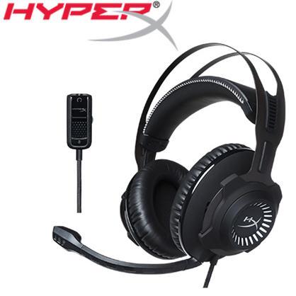 【HyperX】Cloud Revolver電競耳機(HX-HSCR-GM)->學生另有優惠價
