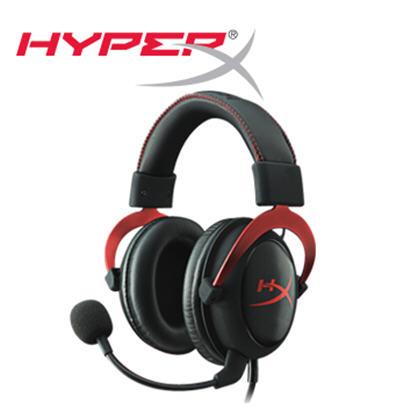 【HyperX】Cloud II電競耳機 紅(KHX-HSCP-RD)->學生另有優惠價