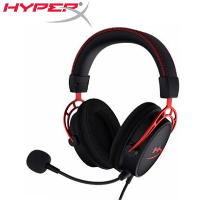 【HyperX】Cloud Alpha電競耳機麥克風(HX-HSCA-RD/AS)->學生另有優惠價