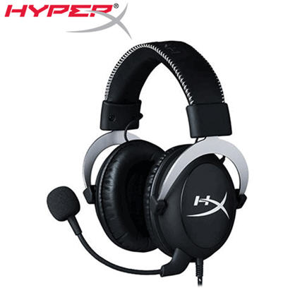 【HyperX】Cloud Silver電競耳機 (HX-HSCL-SR/NA)->學生另有優惠價