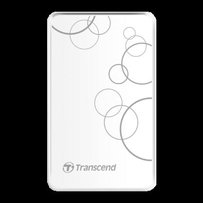 【Transcend創見】StoreJet 25A3 1TB 2.5吋 行動硬碟(白)