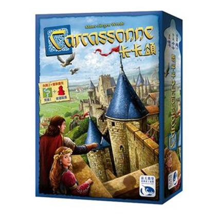 【新天鵝堡桌遊】卡卡頌2.0 (含河流1與修道院長擴充) Carcassonne 2.0
