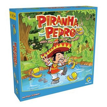 【樂桌遊】食人魚與派德羅 PIRANHA PEDRO