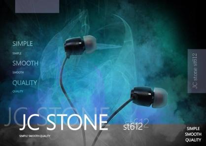 【JC科技小舖】 JC自有品牌耳機 Stone st-612 重低音線控耳塞式耳機