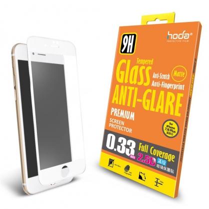 【JC科技小舖】HODA好貼授權販售 【iPhone 7/8 Plus】2.5D防眩光滿版9H霧面鋼化玻璃保護貼