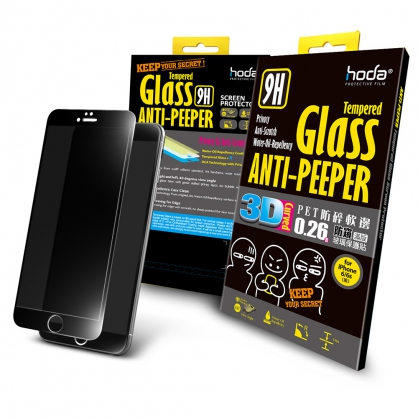 【JC科技小舖】HODA好貼授權販售【酒空專用防窺版】iPhone 6/6sPET防碎軟邊3D滿版玻璃貼