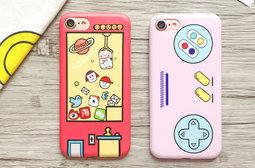 【JC科技小舖】 遊戲搖桿 夾娃娃 磨砂質感手機殼 iPhone 6/6s plus