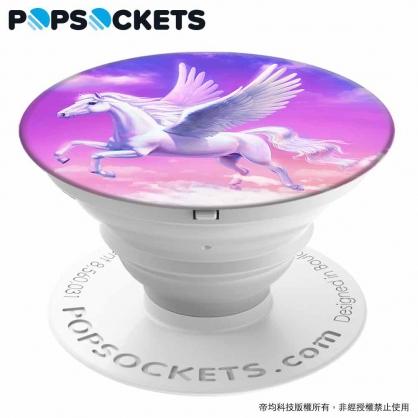 【JC科技小舖】HODA好貼授權販售 飛馬【PopSockets泡泡騷】美國時尚多功能手機支架