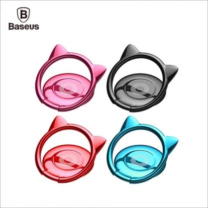 【JC科技小舖】台灣倍思Baseus授權販售貓耳朵指環支架