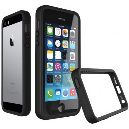【JC科技小舖】犀牛盾授權經銷商 Apple iPhone 5/5S/SE 手機殼 - 犀牛盾 CrashGuard 防摔邊框殼