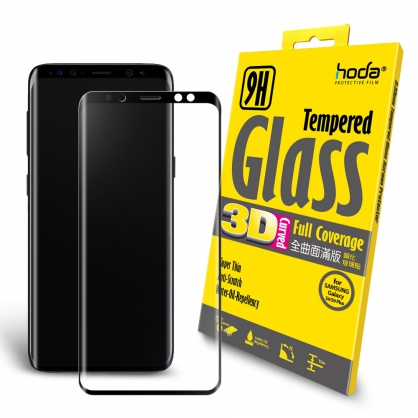 【JC科技小舖】HODA好貼授權【Samsung Galaxy S9 Plus / S9+】3D全曲面滿版9H鋼化玻璃保護貼