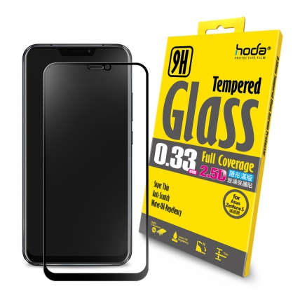 【JC科技小舖】HODA好貼授權【ASUS ZenFone 5 / 5Z (ZE620KL / ZS620KL)】2.5D隱形滿版高透光9H鋼化玻璃保護貼