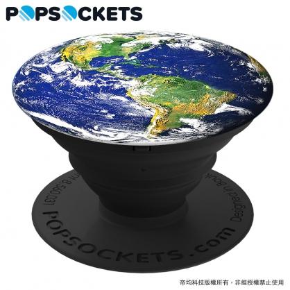【JC科技小舖】HODA好貼授權販售 地球【PopSockets泡泡騷】美國時尚多功能手機支架