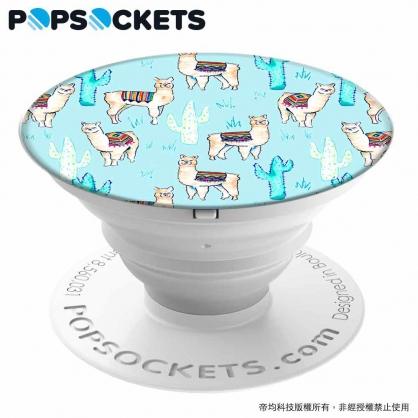 【JC科技小舖】HODA好貼授權販售 草泥馬草原【PopSockets泡泡騷】美國時尚多功能手機支架