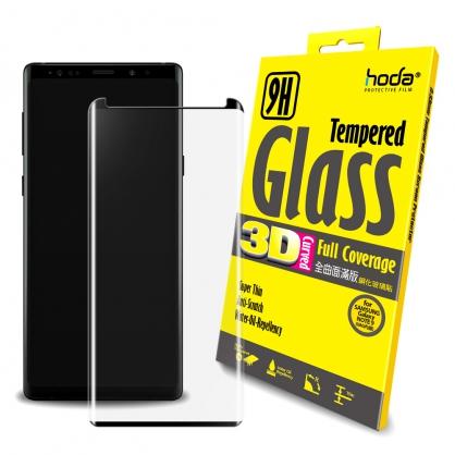 【JC科技小舖】HODA好貼授權販售 hoda【Samsung Galaxy Note9】3D全曲面滿版9H鋼化玻璃保護貼(內縮版)