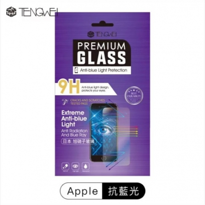 【JC科技小舖】【TENGWEI】Apple iPhone 標準版 抗藍光鋼化玻璃保護貼