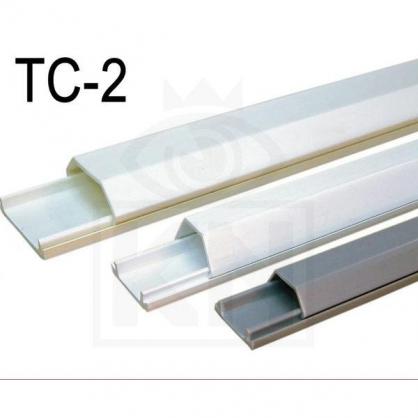 TC-2 2號壓條 電話機線 電信配線 防災防盜 監視系統 配線槽 壓線條 壓條 監視器