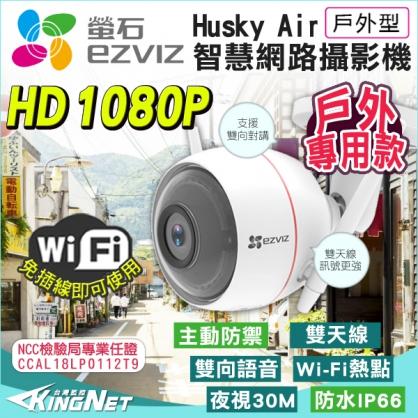 監視器 高清 HD 1080P 防水防塵 IP66 AP熱點 紅外線夜視達30米 雙向語音對講