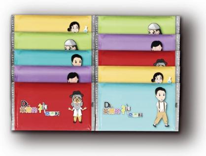 【Dr.萊爾的神奇百科】面紙組(10小包1組)