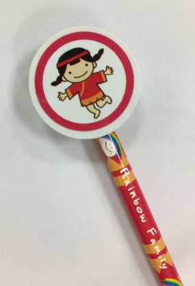 彩虹娃娃鉛筆