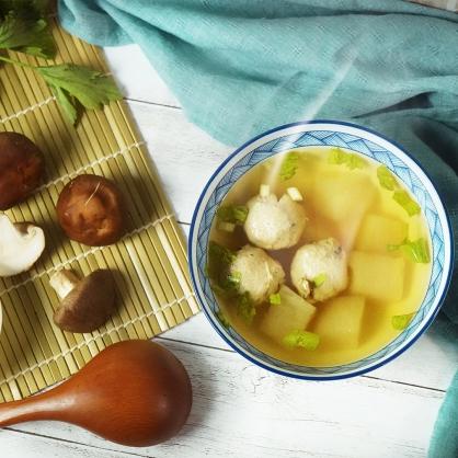 柴燒香菇貢丸-噠噠丸  6包入