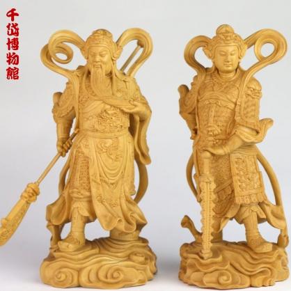 韋陀伽藍護法菩薩  高18cm