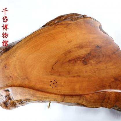 原木茶盤 單層簡易日式風格~荔枝木