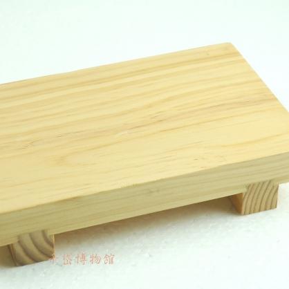 生魚片盤-木胎漆器