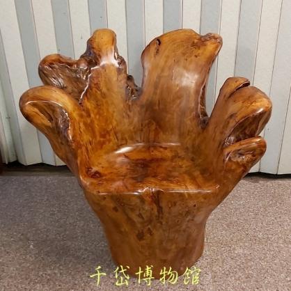 原木老闆椅