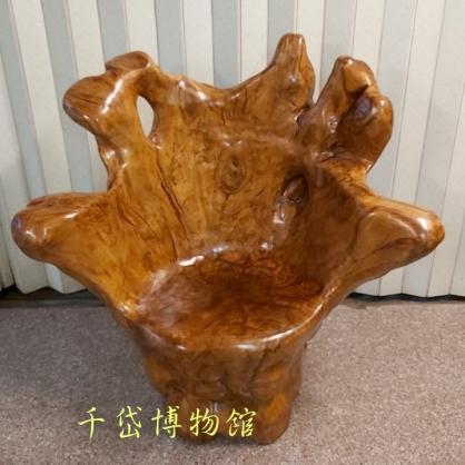 原木主人椅