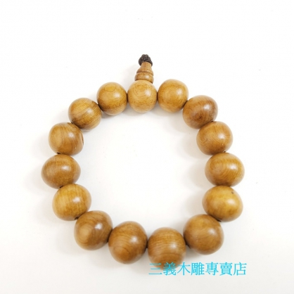 肖楠木念珠 原木手珠 木製佛珠(12mm)