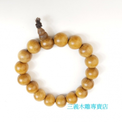 肖楠木念珠 原木手珠 木製佛珠(10mm)