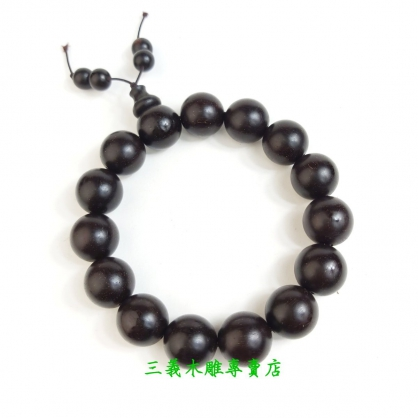 贊比亞血檀念珠 原木手珠 木製佛珠
