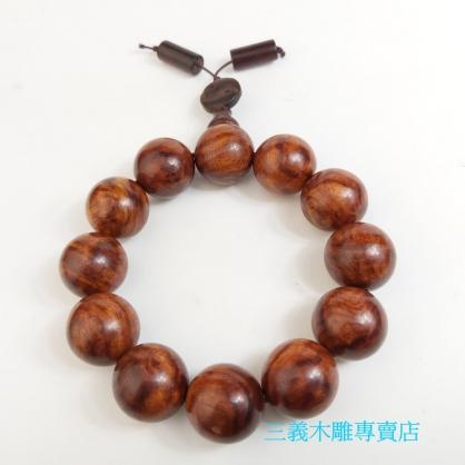 黃花梨念珠 原木手珠 木製佛珠